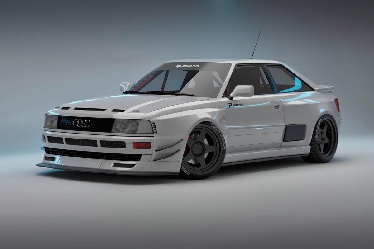 PRIOR Design aero kit for Audi Coupe