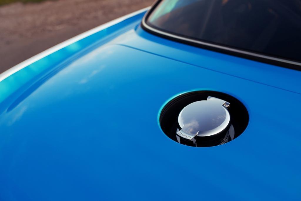 Revealing the Volvo P1800 Cyan