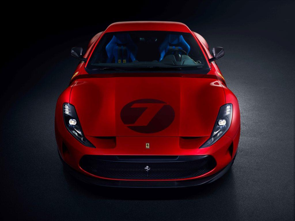 The Ferrari Omologata is a one off creation