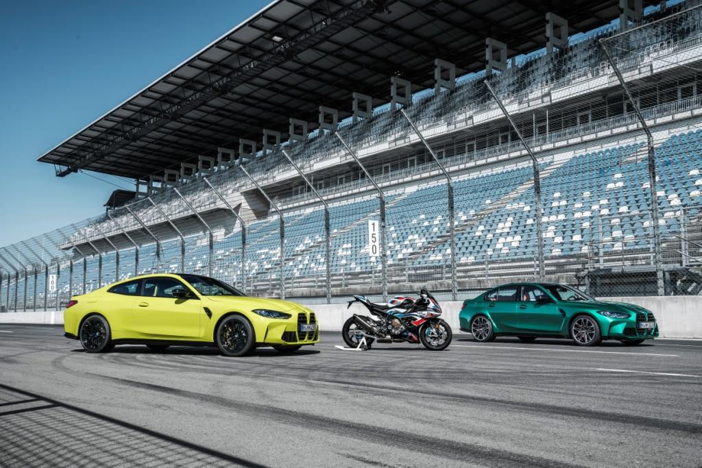 The new BMW M3 Competition Saloon and BMW M4 Competition Coupe