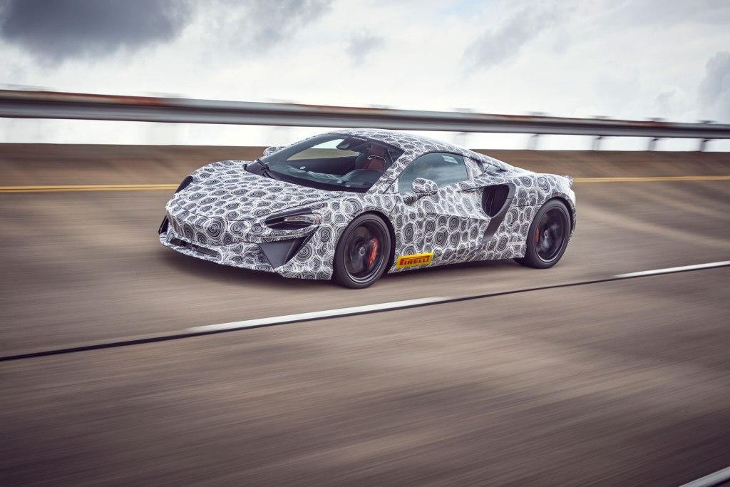 McLaren's all-new High-Performance Hybrid supercar