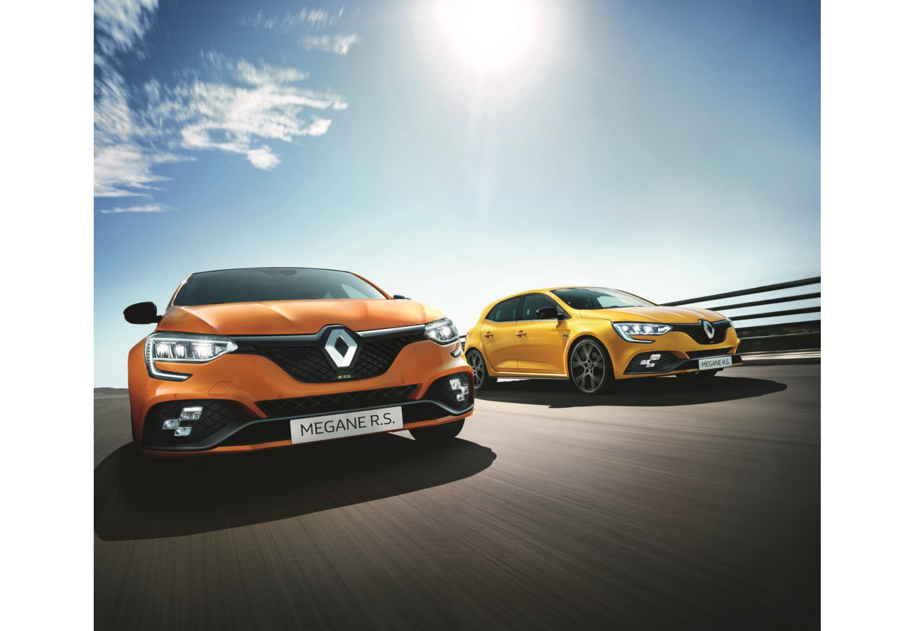 The new Renault Megane RS 300 and RS Trophy