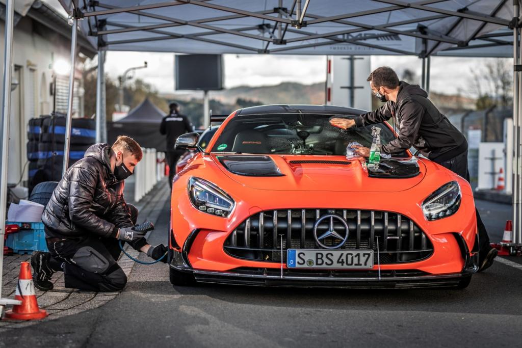 Series is fastest production car on the Nurburgring Nordschleife
