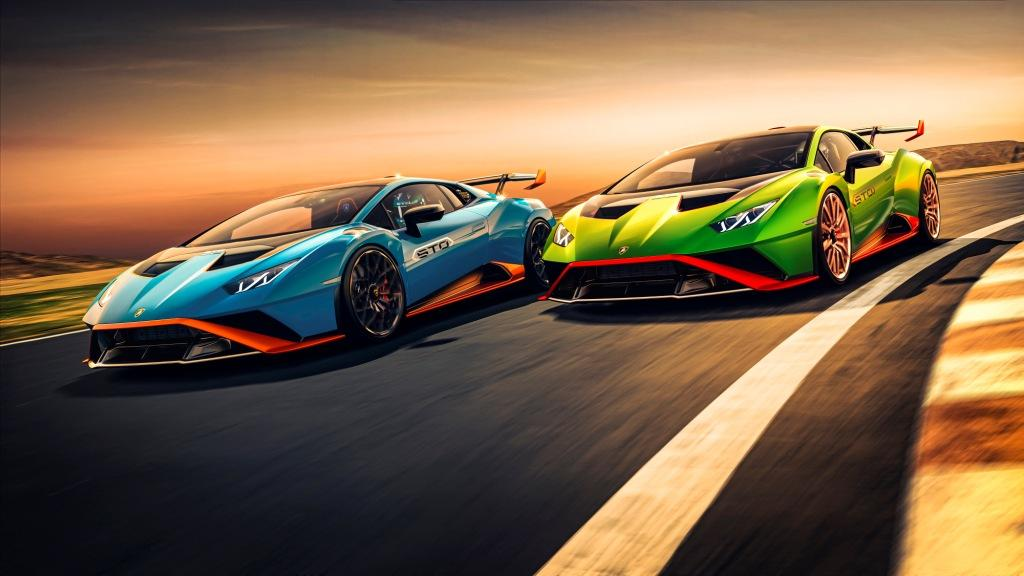 The new Lamborghini Huracán STO
