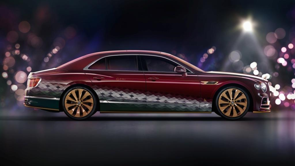 Bentley sleighs the competition with the Reindeer Eight Flying Spur