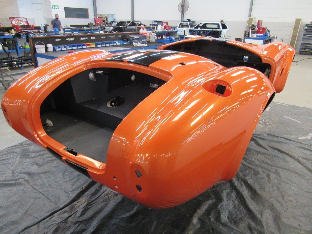The AC Cobra Series 4 electric