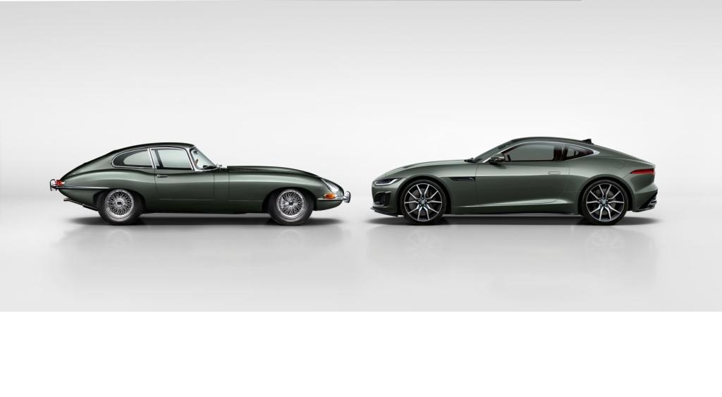 The new Jaguar F-TYPE Heritage 60 Edition