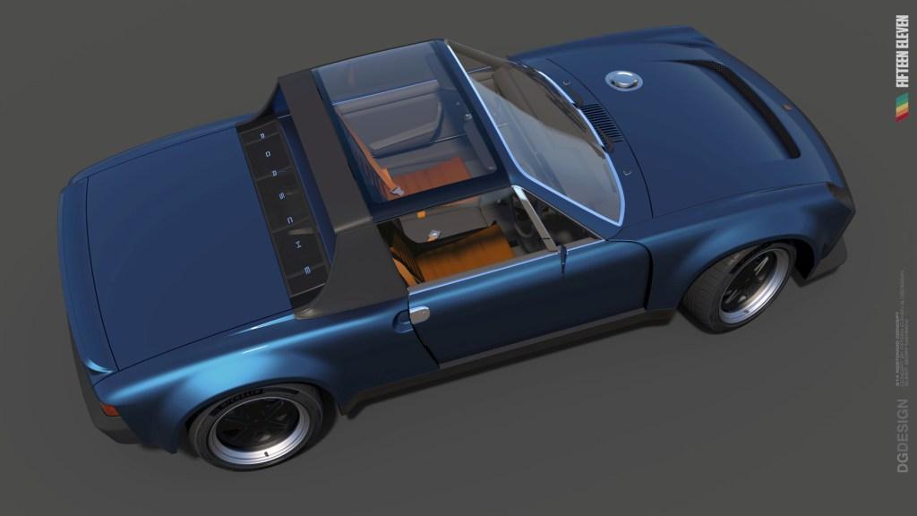 Fifteen Eleven Design create contemporary Porsche 914