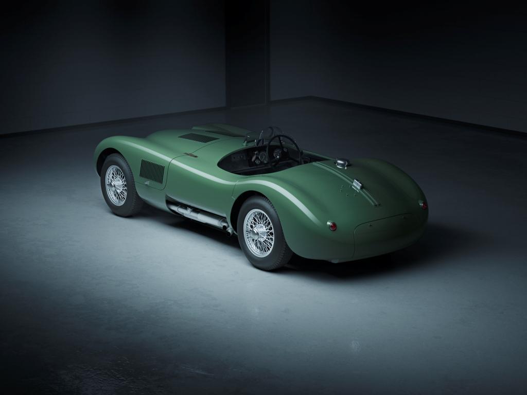 Jaguar C-type joins Classic Continuation family