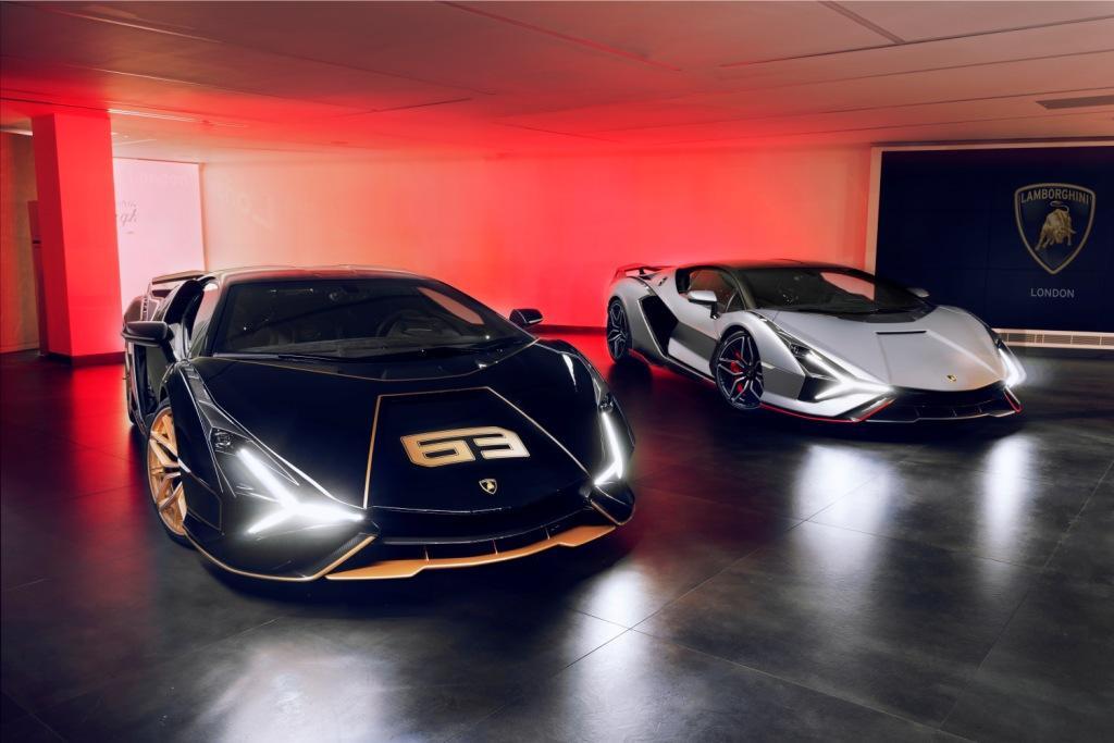 Lamborghini London Celebrates Delivery of Two Rare Lamborghini Siáns