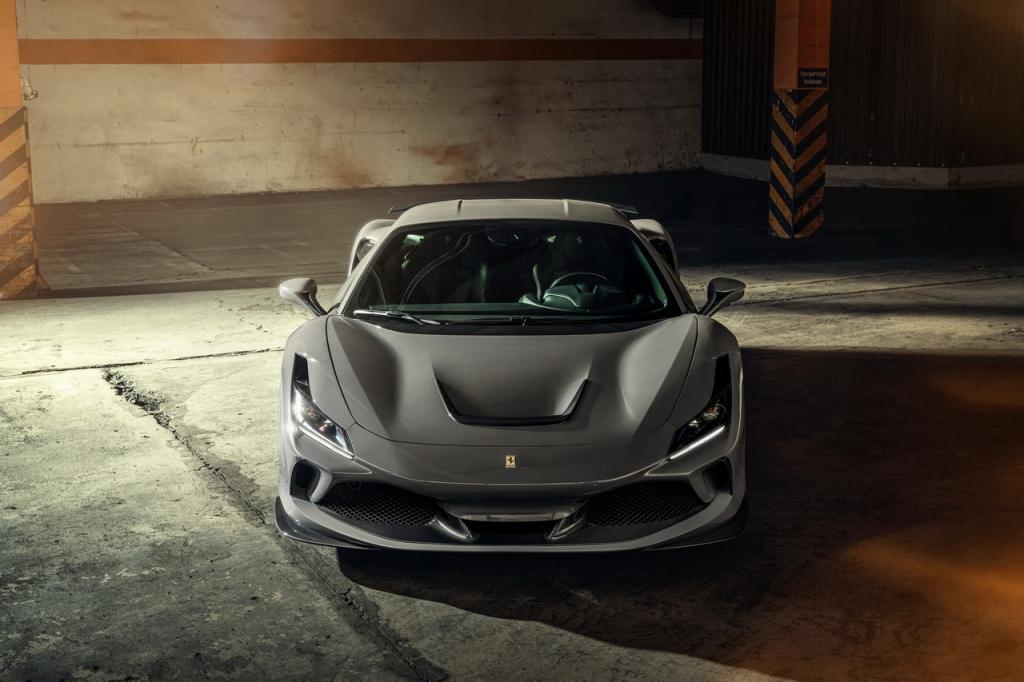 The NOVITEC refinement range for the Ferrari F8 Tributo