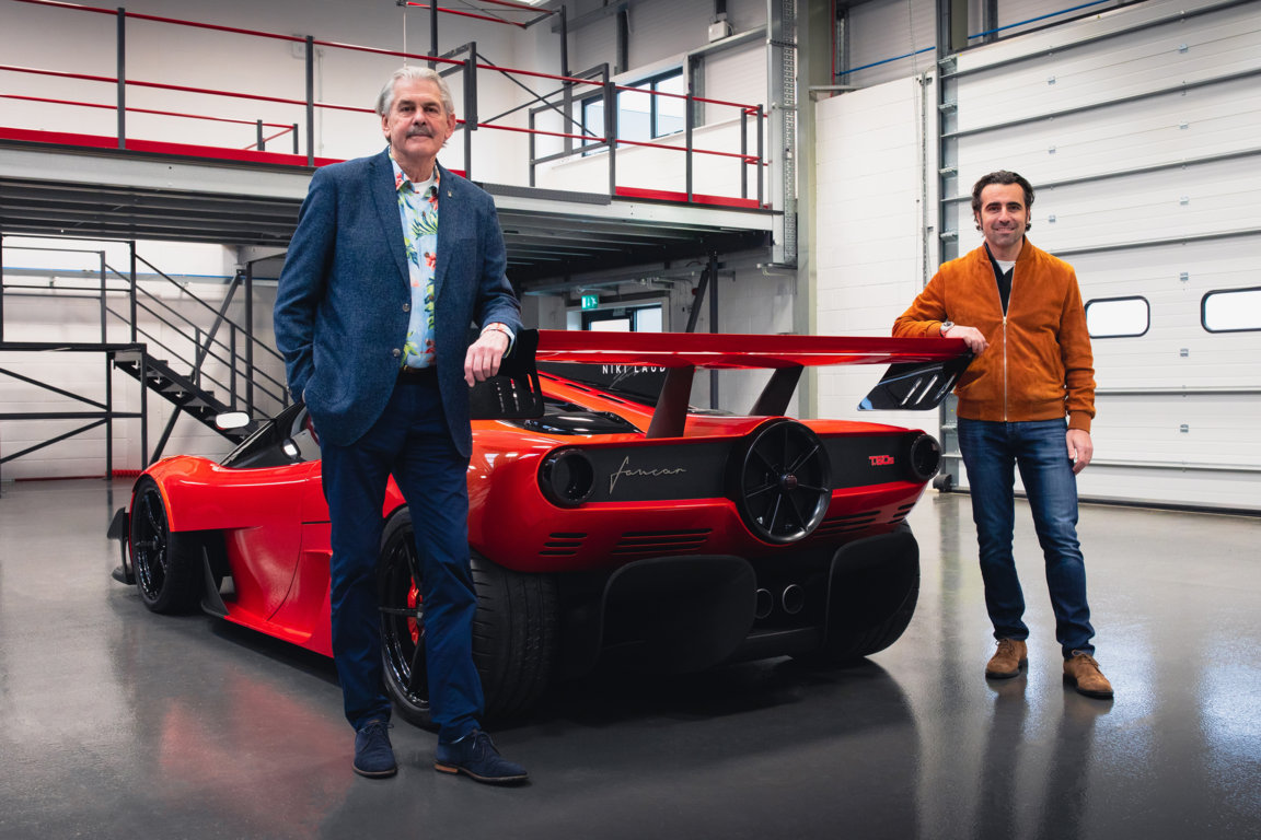 Gordon Murray Automotive reveals the T.50s Niki Lauda