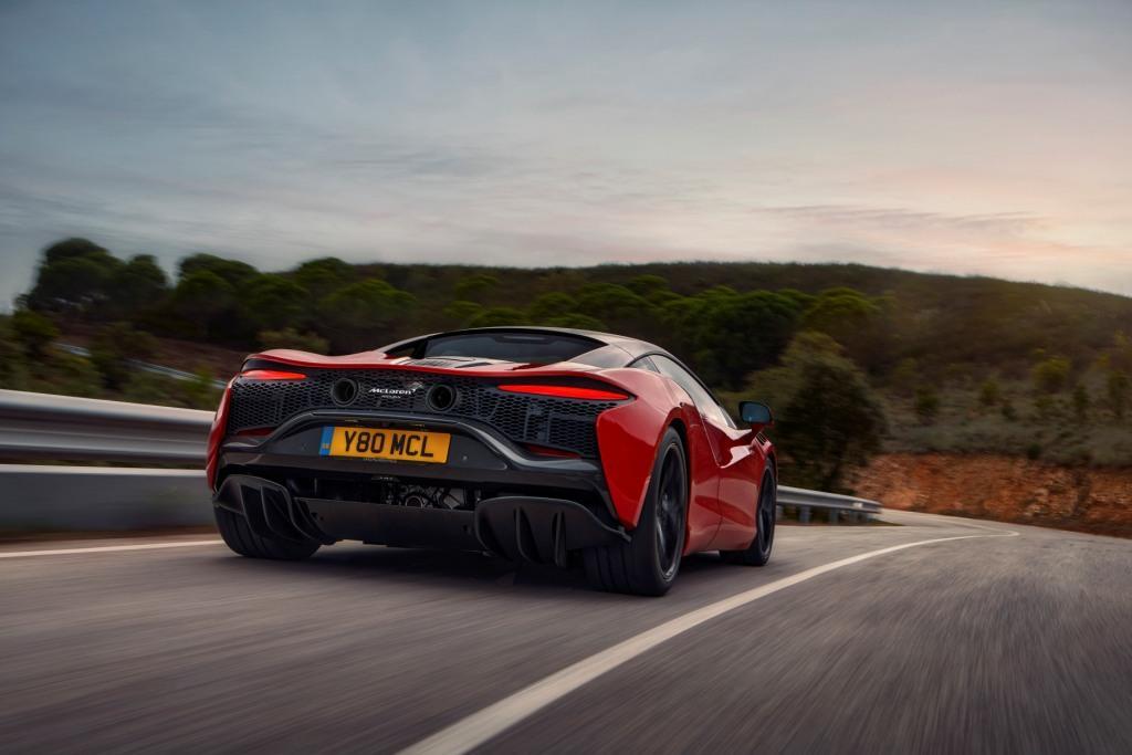 The McLaren Artura High-Performance Hybrid supercar