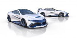 Naran Automotive reveals 'Celare Pack' for debut hyper-coupé