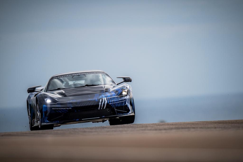 Quick Nick tests Battista prototype as hyper GT development accelerates