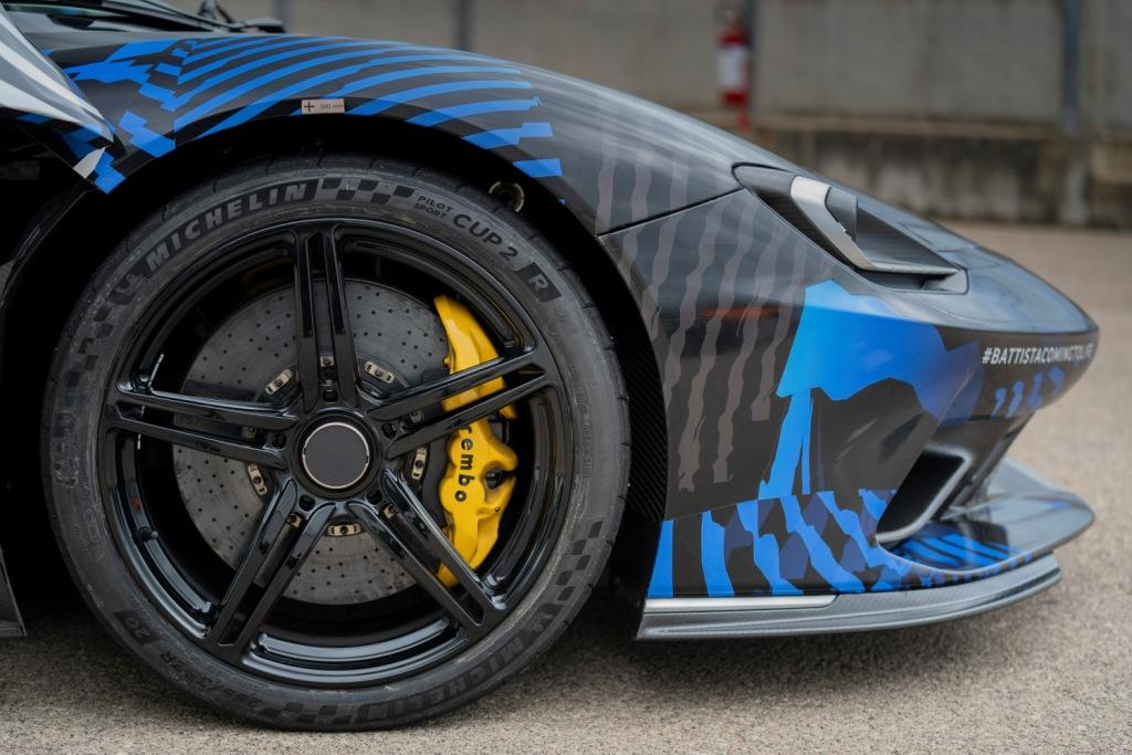 Quick Nick tests Battista prototype as hyper GT development accelerates