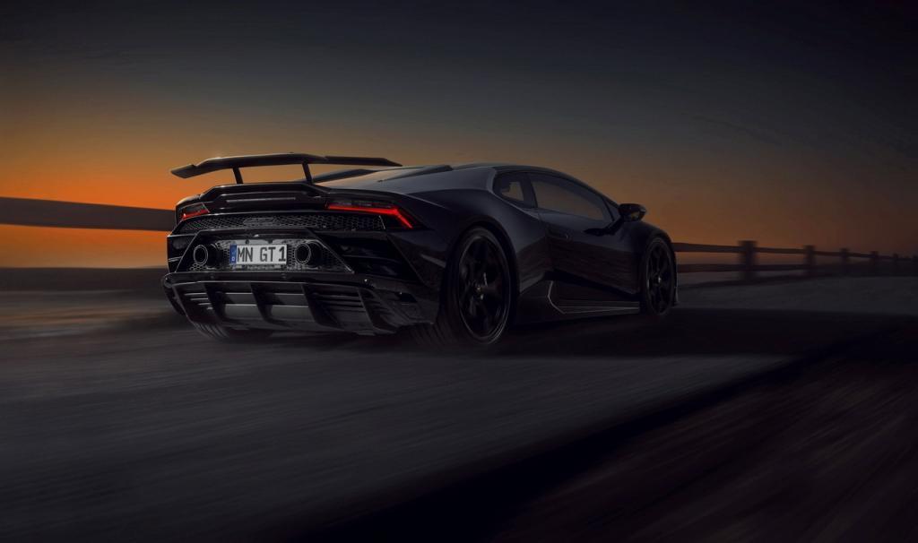NOVITEC makes the Lamborghini Huracán EVO RWD more spectacular and dynamic yet