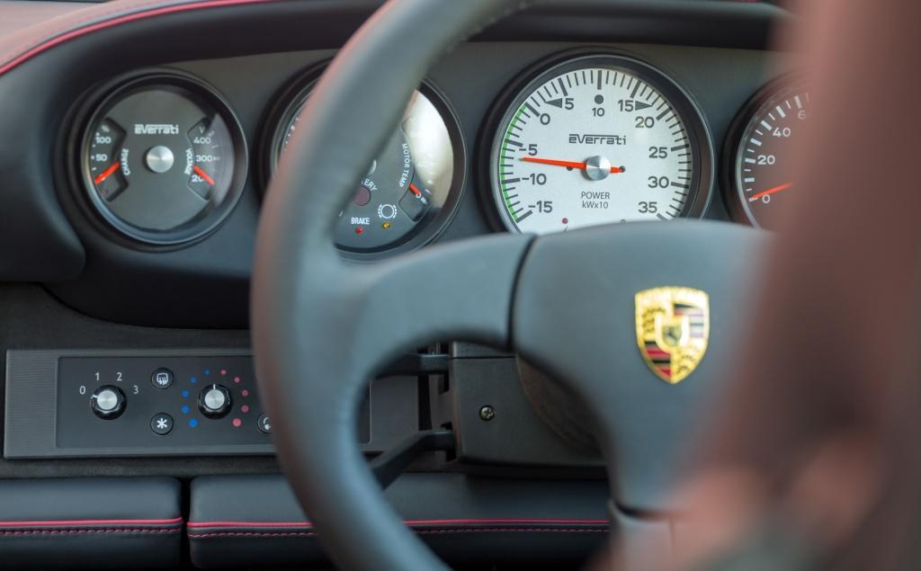 Everrati unveils 500bhp EV powered wide body Porsche 911