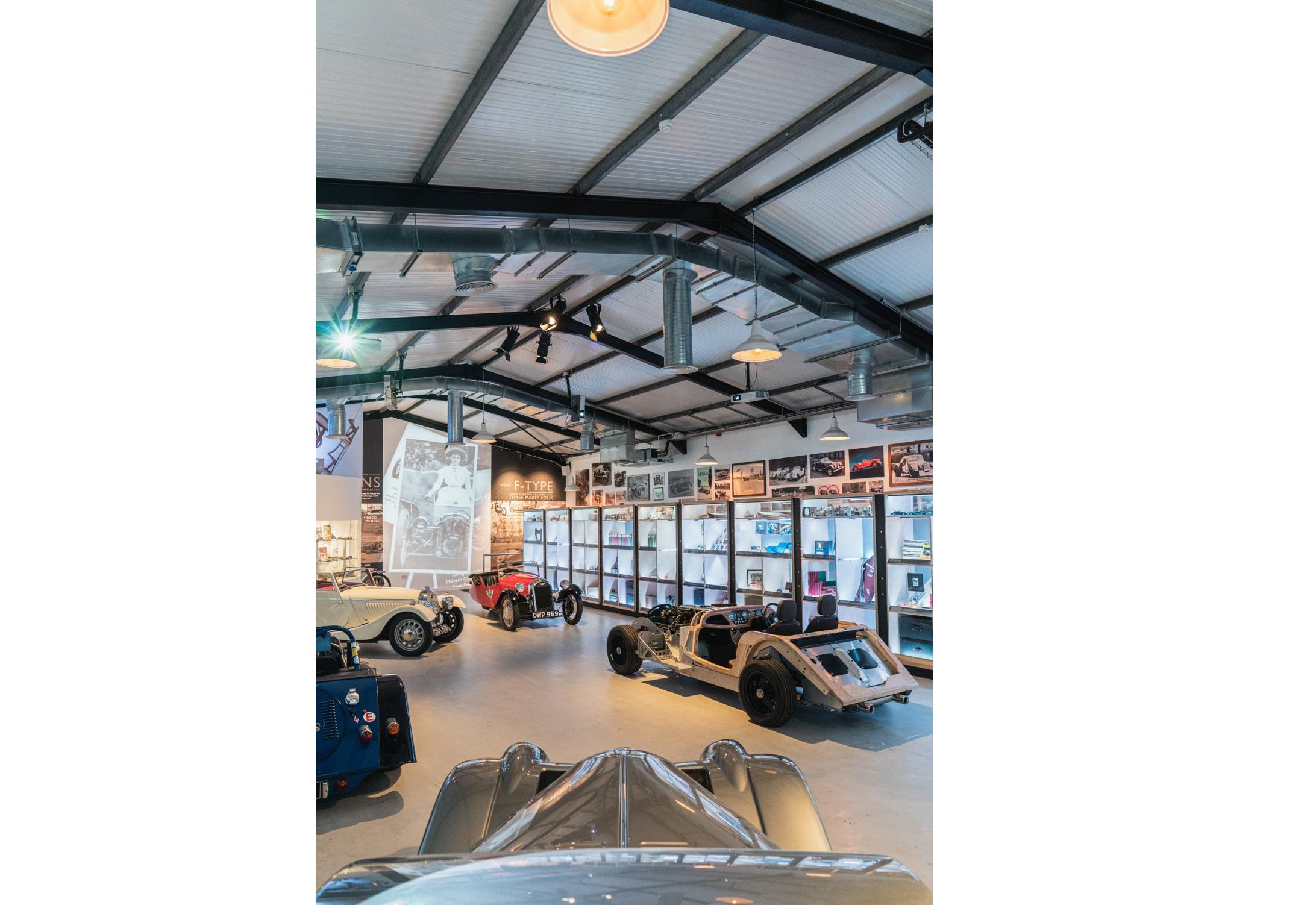 Morgan Motor Company opens interactive new museum