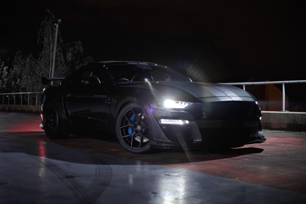 Clive Sutton launches UK's most powerful Mustang