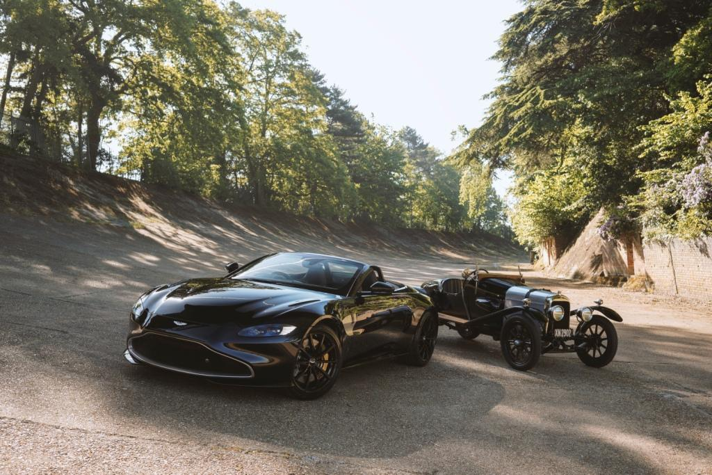 Q by Aston Martin Vantage Roadster celebrates 100 years of A3