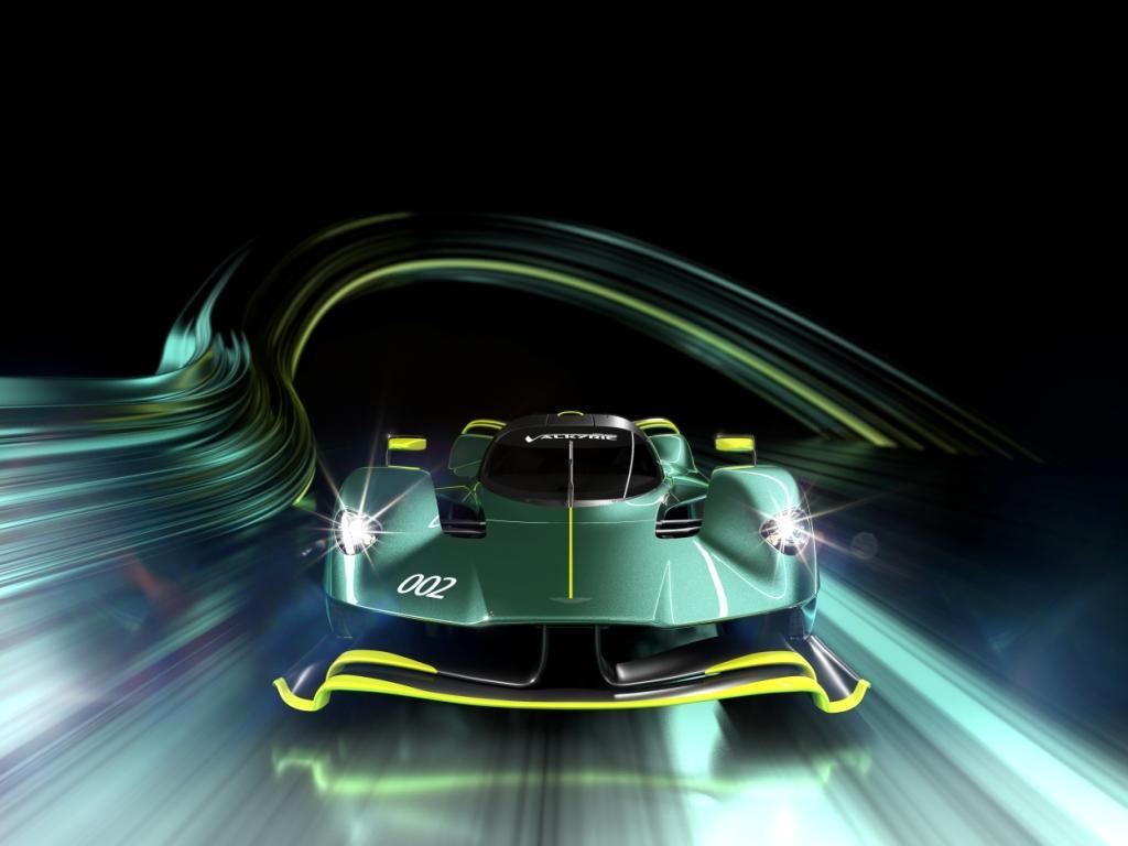 The Aston Martin Valkyrie AMR Pro