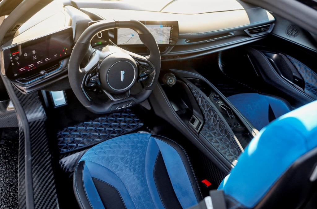 Battista hits the open road as it makes dynamic debut in the US