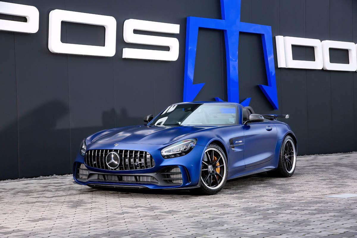 POSAIDON RS 830+ Mercedes AMG GT R Roadster