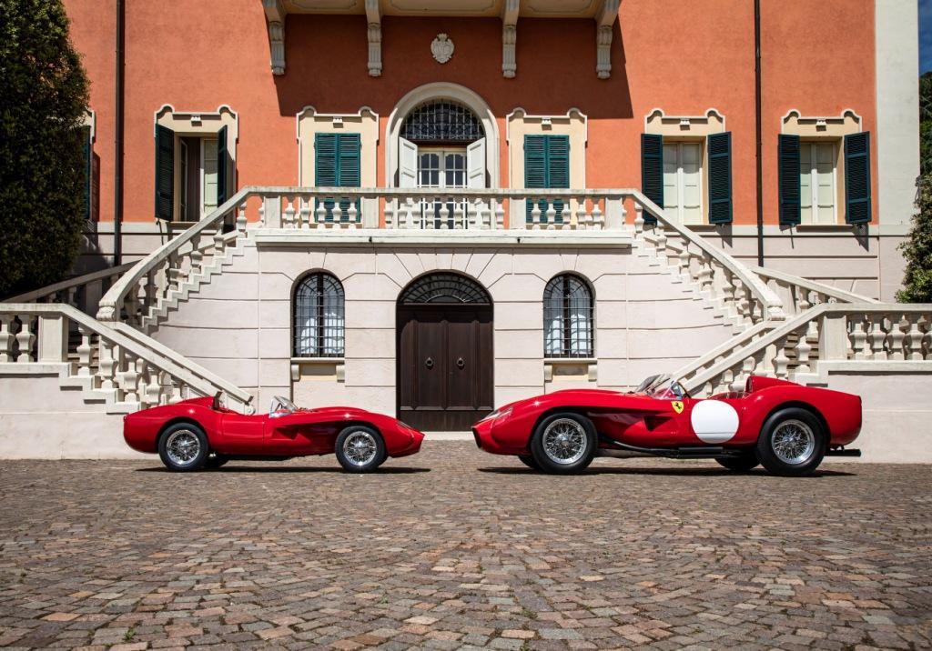 The Testa Rossa J, a scale replica of the 1957 250 Testa Rossa, is born