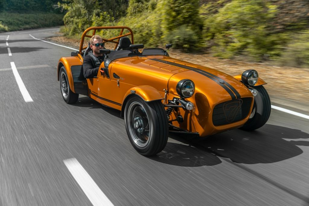 Caterham launches new Seven 170, the lightest production Seven ever built