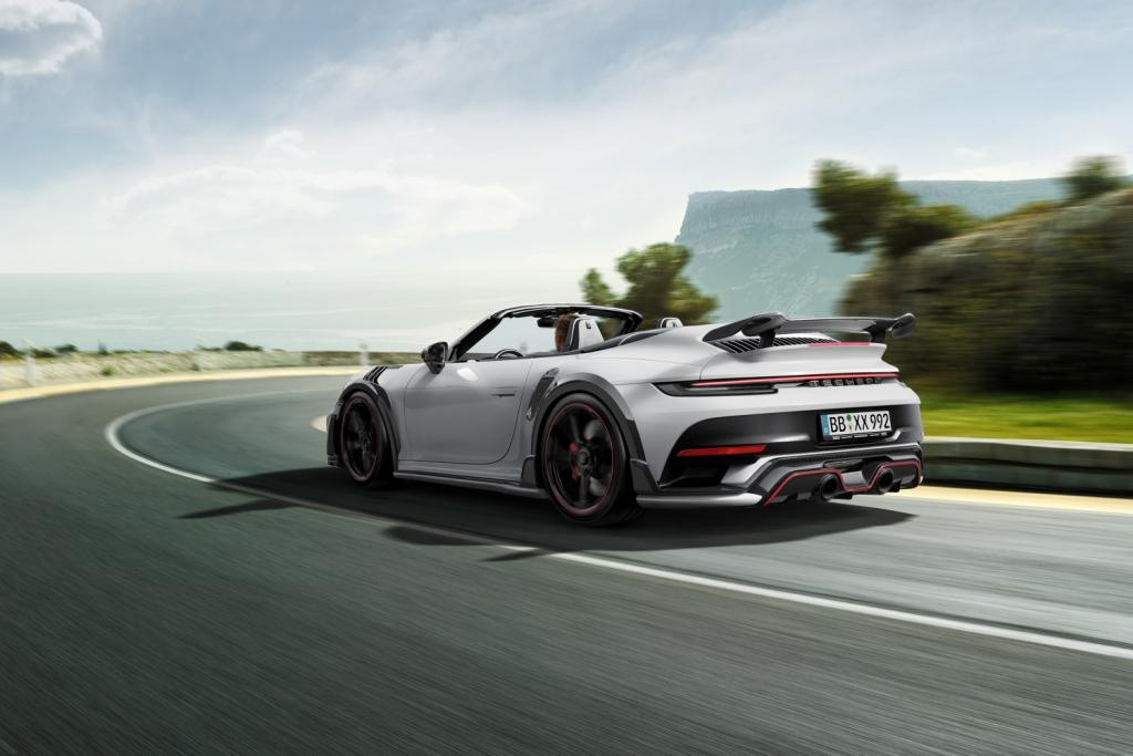 New TECHART GTstreet R Cabriolet with up to 800 hp
