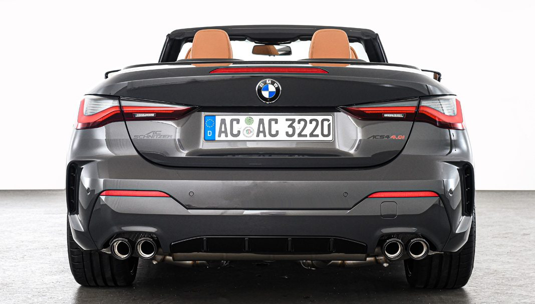 The G23 BMW 4 series Convertible by AC Schnitzer