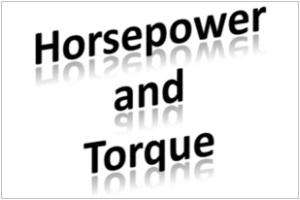 Horsepower and Torque