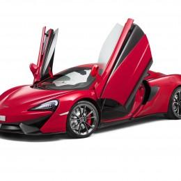 McLaren 540C Doors Up