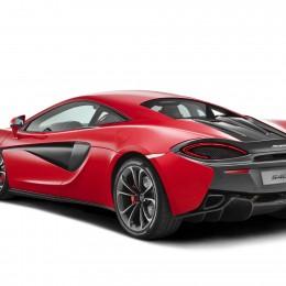 McLaren 540C Rear Side