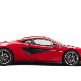McLaren 540C Side