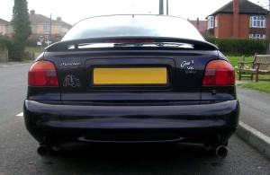 Mondeo 2.5 V6 24v - Rare Mk3 smooth bumper edition with dark metalic purple with Scorpion exhaust, K&N Cold Air Induction Kit and Koni adjustable suspension