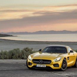 Yellow-Mercedes-AMG-GT