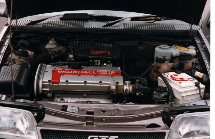 Vauxhall Astra GTE Mk2 1985-1991
