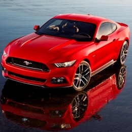 2015 Ford Mustang Front Side