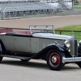 1932 Packard Twin Six Roadster Coupe (Lot S63)