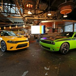 2017 Dodge Charger Daytona and Dodge Challenger TA