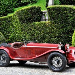 Alfa 8C Zagato Spyder