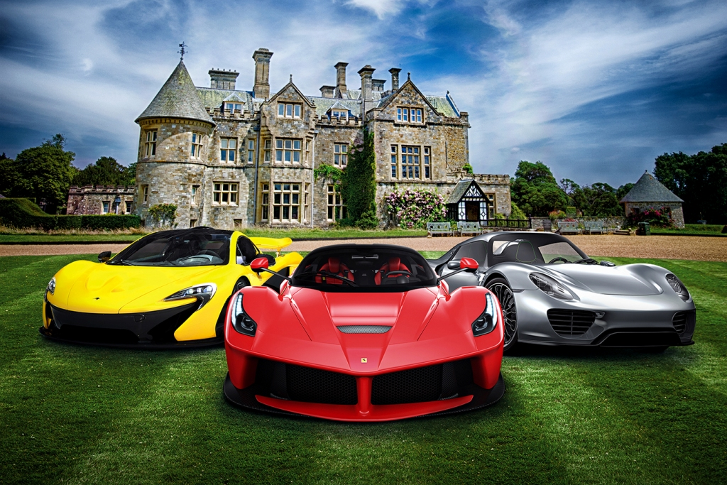 Big Cars and Supercars