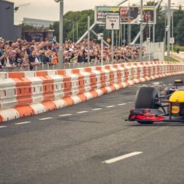 David Coulthard thrills the crowds at IGNITION