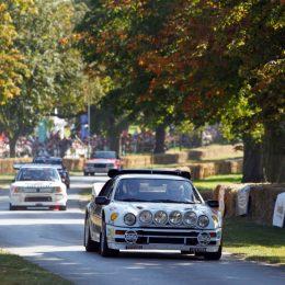 Group B cars at Cholmondeley Castle 1