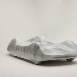 """Kellen Silverthorn's exquisite marbel """"Stromlinie"""" Sculpture"""
