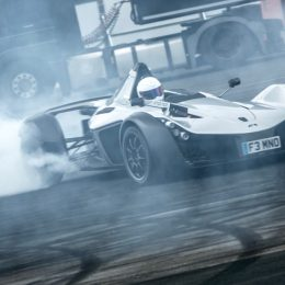 The Stig in action at IGNITION
