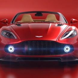 Aston Martin Announces Vanquish Zagato Volante At Pebble Beach