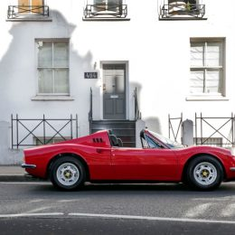1973 Ferrari Dino Owned By Led Zeppelin's Manager Peter Grant Up For Auction